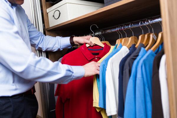 Vilka kläder ska få plats i garderoben+